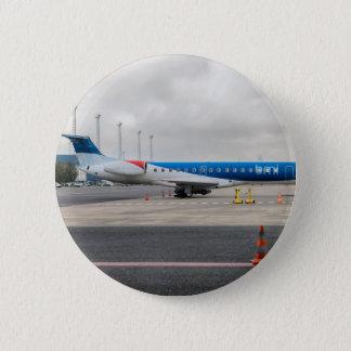 Badges L'avion à l'aéroport
