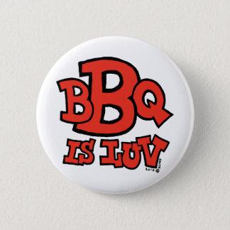 Badges Le BBQ est bouton de Luv