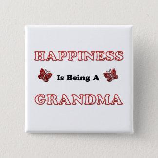 Badges Le bonheur est une grand-maman