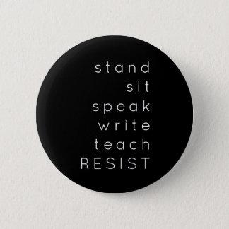 Badges Le bouton de résistance
