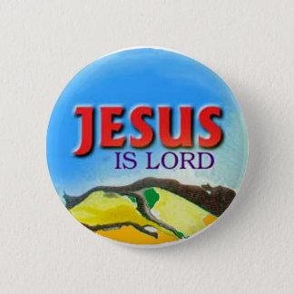 Badges le bouton Jésus est seigneur