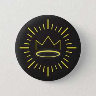 Badges Le bouton juste de roi