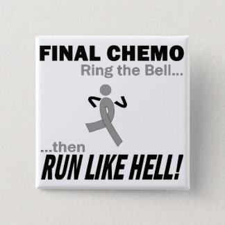 Badges Le chimio final courent beaucoup - cancer du