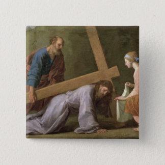 Badges Le Christ portant la croix, c.1651