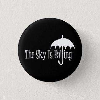 Badges Le ciel est noir et blanc en baisse de parapluie