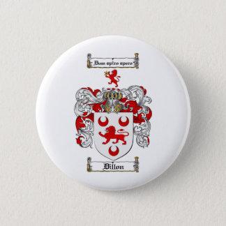 BADGES LE CREST DE FAMILLE DE DILLON - MANTEAU DE DILLON