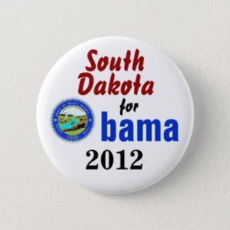 Badges Le Dakota du Sud pour Obama 2012