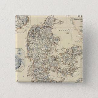 Badges Le Danemark, Hannovre, Brunswick, Mecklenburg
