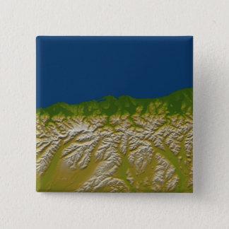 Badges Le défaut alpin le long de la côte ouest