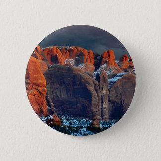 Badges le désert foncé bascule des formes