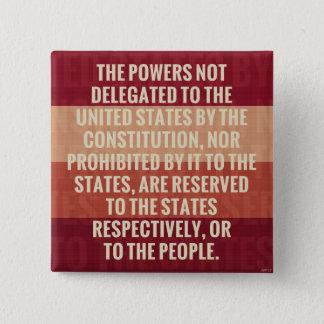 Badges Le dixième amendement
