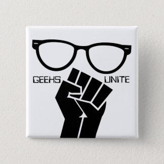 Badges Le geeks unit ! Bouton