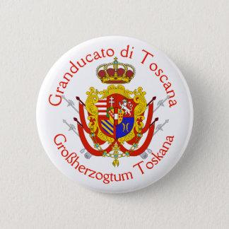 Badges Le Grand-Duché de bannière blanche rouge de la