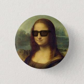 Badges Le hippie Mona Lisa dans le hippie ombrage da