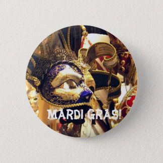 Badges Le mardi gras masque le bouton