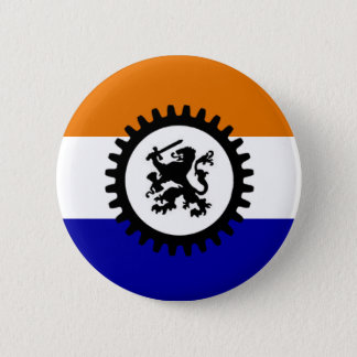 Badges Le noir front blanc orange bleu