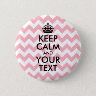 Badges Le noir gardent le calme et votre texte