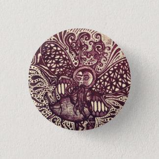 Badges Le Pin Trippy d'art de messager