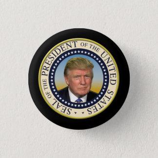 Badges Le Président Trump Photo Presidential Seal