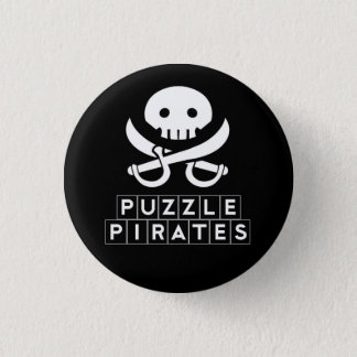 Badges Le puzzle pirate le bouton de crâne