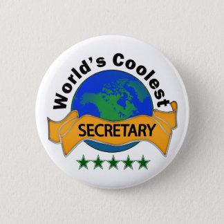 Badges Le secrétaire le plus frais du monde