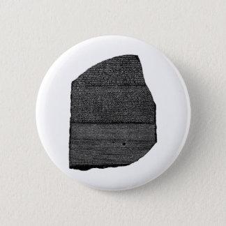 Badges Le Stele égyptien de granodiorite de pierre de