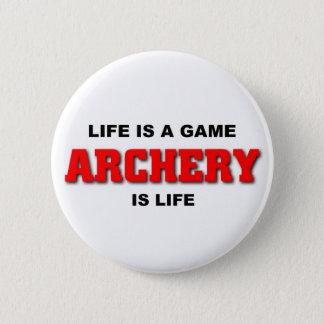 Badges Le tir à l'arc est la vie