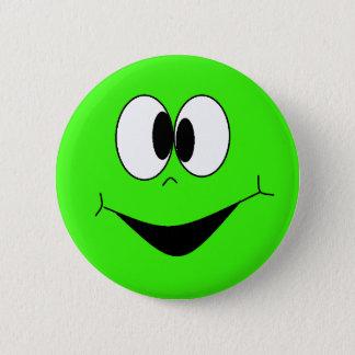 Badges Le vert de chaux Googlie idiot observe le bouton