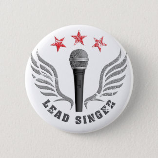 Badges lead never singer arrêt microphone singing