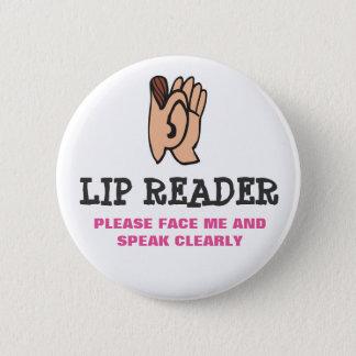Badges Lecteur de lèvre
