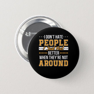 Badges L'énonciation drôle ne détestent pas la sensation