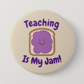 Badges L'enseignement est mon bouton de confiture