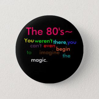 Badges Les années 80