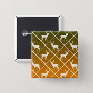 Badges Les cerfs communs modèlent sur l'arrière - plan de