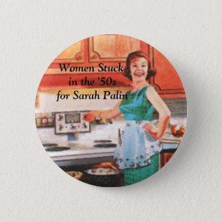 Badges Les femmes ont collé pendant les années 50 pour