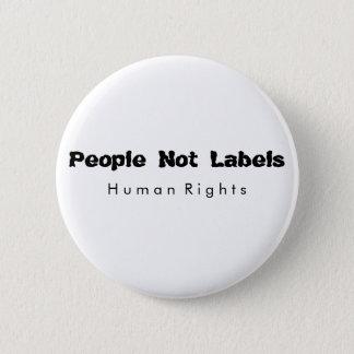 Badges Les gens pas marquent le bouton