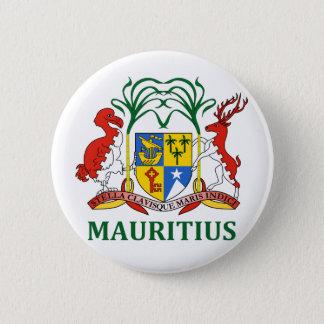 Badges les îles Maurice - emblème/drapeau/manteau des