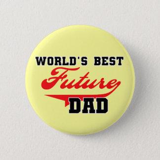 Badges Les meilleurs futurs T-shirts et cadeaux du papa