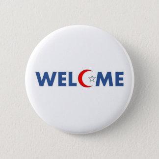 Badges Les musulmans souhaitent la bienvenue aux