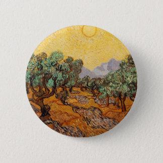 Badges Les oliviers de Vincent Van Gogh (Olives trees)