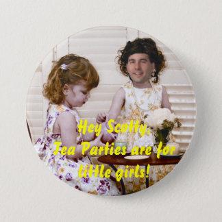 Badges Les thés sont pour de petites filles