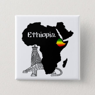 Badges L'ETHIOPIE/LION de JUDAH