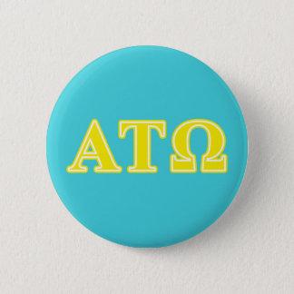 Badges Lettres jaunes de Tau Omega d'alpha