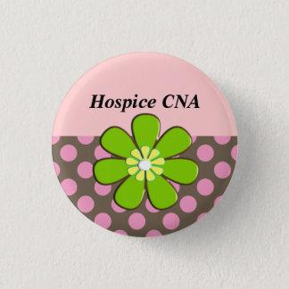 Badges L'hospice PEUT les boutons Artsy et la fleur