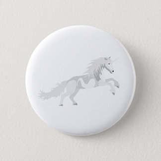 Badges Licorne de blanc d'illustration