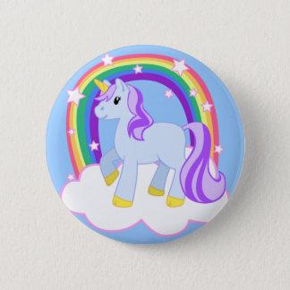 Badges Licorne magique mignonne avec l'arc-en-ciel