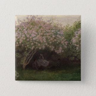 Badges Lilas de Claude Monet |, temps gris, 1872