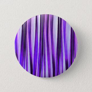 Badges Lilas luxueux, pourpre et motif rayé argenté