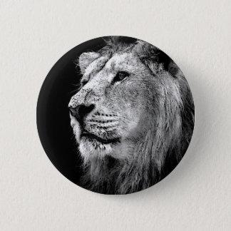 Badges Lion noir et blanc
