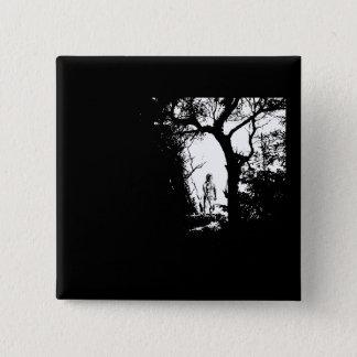 Badges Loup-garou dans le bouton de forêt